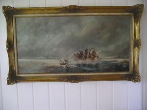 Germany Johann Peter Allroggen (*1941) oil painting