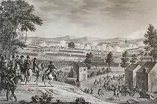 Bataille de Lutzen 1813 Roehn Napoléon Bonaparte Révolution 1850