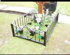 Wrought Iron Memorial Fence (MF18)