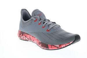 Reebok Flashfilm 2.0 Gr EH2671 Herren Grey Mesh Athletic Running Schuhe