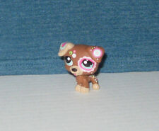 Littlest Pet Shop Jack Russell Terrier Tattoo Puppy Dog #1579 Hasbro New Loose