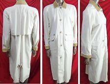 Rare VINTAGE 1980's EDDIE BAUER Chore LONG BARN COAT Jacket oversized M  L 46x47