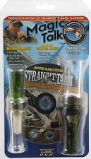 Duck & Goose Call Combo Pack - Mallard & Canada Goose - Buck Gardner Magic Talk