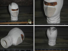 HOT TOYS MASKED HEADS CULPT STORM SHADOW GI JOE RETALIATION 1/6 ACTION TOYS