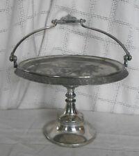 Reed & Barton silver bridal basket cake basket #3502