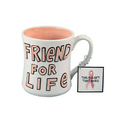 Friend For Life our name is mud coffee mug new gift enesco