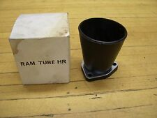 Vintage Tillotson HR Carburetor Air Ram Tube Velocity Stack Go Kart Snowmobile