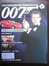 FASCICULE 11 JAMES BOND POSTER FERRARI F 355 GTS  GOLDENEYE