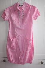 Miss Blumarine Kleid mit Steinen rosa sehr ausgefallen NP: 199,00 Euro !