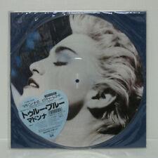MADONNA - TRUE BLUE LP 1986 JAPAN VINYL PICTURE DISC SIRE P-15004 w/ sticker