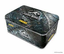 Jurassic World Panini Collectors Tin 75 Stickers