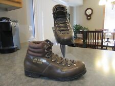 Mens Vtg KLIMA AUSTRIA ECHT LEDER Lace Up Leather Hiking Boots Piz Palu Sz 42