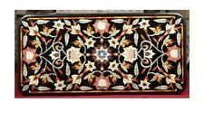 "48"" x 24"" Marble center Table Top Pietra Dura marquetry handicraft art Inlay"