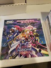 Weiss Schwarz Japanese Booster Box Magical Girl Nonoha Detonation New!