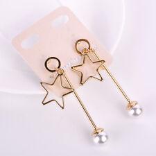 Drop/Dangle/Chain Korean Style Tassel Leaves Face Palm Fish Bone Stud Earrings