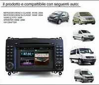 AUTORADIO 2 DIN Android TOUCH DvD GPS MERCEDES CLASSE A B VITO Sprinter
