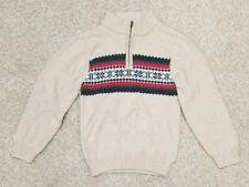 Gymboree Boy's Long Sleeve Sweater Size Small 5-6 w