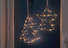 LED Fenstersilhouette Iluminación Decoración de Ventana Imagen Navidad