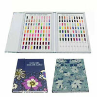120/180 Tips Colour Chart Display Book For UV Gel Polish Nail Art Tool Manicure