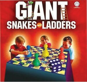NEW Giant Snakes And Ladders from Mr Toys