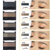 Waterproof Eyebrow Makeup Powder Definition Brow Stamp Paint UK Eyebrow F7S6