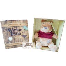 "Winnie the Pooh Disney Vintage 10"" Gift Boxed Soft Toy Plush Gift"