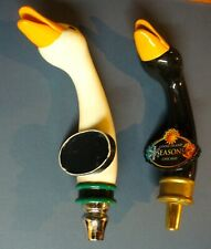 Two Goose Island Beer Tap Handle Used