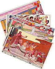 5 Vevey Switzerland Fete Des Vignerons 1905 Art Nouveau Ernest Bieler unused pcs