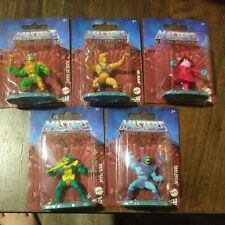 Masters of the Universe Micro Collection 5 Figure Set Skeletor He-Man Orko Lot?