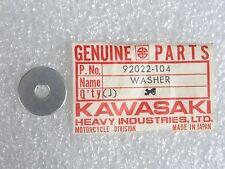 Kawasaki NOS NEW  92022-104 Washer H1 W1 W2 A1 A7 AN EX F5 F6 F8 F9 G4 1966-2017