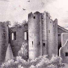 Château de Benauge Forteresse médièvale Arbis Aquitaine Gironde