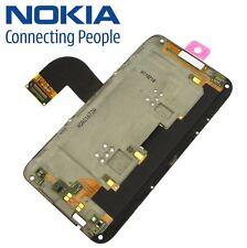 Original Nokia E7-00 Mittel Rahmen Kamera + Home Tasten Flex Flexkabel UI Board
