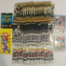 54 Hockey Card Pack Bundle Lot - Upper Deck, Topps, O-Pee-Chee, Parkies - Sealed