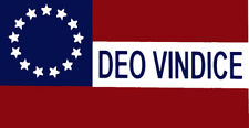 Wholesale Lot of 6 Stars Bars Deo Vindice 13 Star Decal Bumper Sticker