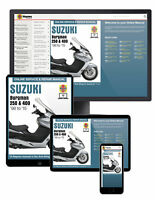 Suzuki Burgman 250 & 400 (1998-2015) Haynes Online Manual