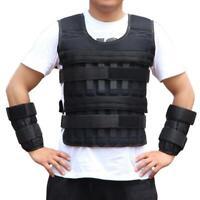 20kg Adjustable Weighted Vest Jacket Boxing Training Waistcoat Weight vest