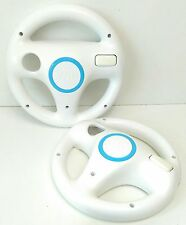 2 x Official Nintendo Wii Steering Mario Kart Wheel