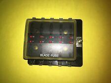 10 Way Blade Fuse Box LED Fuse Failure Kit Car Boat Bike Trike Project 100A 12V