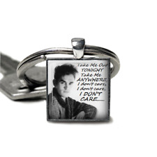 Morrissey keyring Smiths Keyring Lyrics Handmade Morrissey there is a light gift