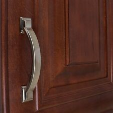 """4355-SN - 3"""" CC Arched Square Cabinet Pull - Satin Nickel"""