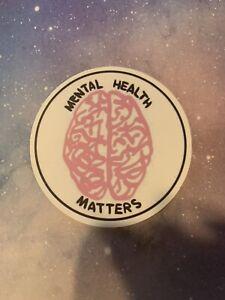 Pink Sticker Mental Health
