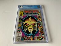 MASTERS OF THE UNIVERSE 4 CGC 9.8 WHITE PAGES MARVEL COMICS 1986 A