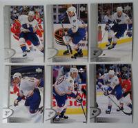 1996-97 Upper Deck UD Series 2 St. Louis Blues Team Set of 6 Hockey Cards