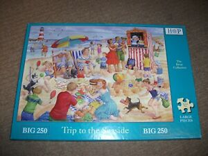 HOUSE OF PUZZLES JIGSAW - TRIP TO THE SEASIDE - 250 BIG PIECE - EXCELLENT COND.