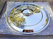 "Pontiac 68-72 17"" Chrome Air Cleaner Breather Lid Quadrajet Carburetor TransAm"
