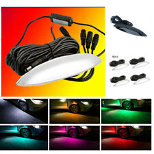 Car Fender Wheel Eyebrow LED Colorful Music Phone App Control Ambient light Type