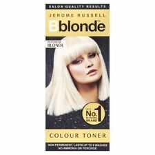 2 X Jerome Russell Colour Toner Platinum Blonde 75ml