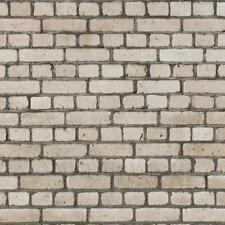 Dolls House Miniature Weathered Grey Brick Pattern Cladding