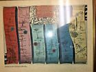 Road Map from London to Oxford  by John Ogilby  1675   Framed
