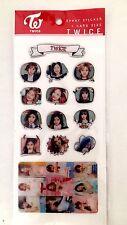 TWICE New Epoxy Stickers Photo Card Korean Fan Goods K pop Girl Singer Brand New